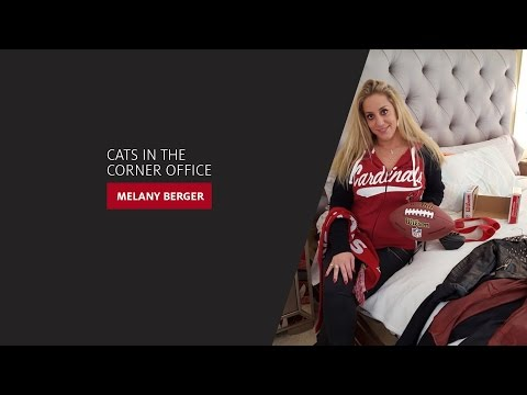 Cats in the Corner Office: Melany Berger '01