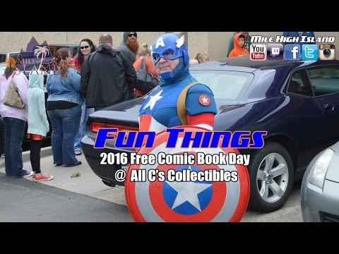 MHI Productions: 2016 Free Comic Book Day @ All C's Collectibles