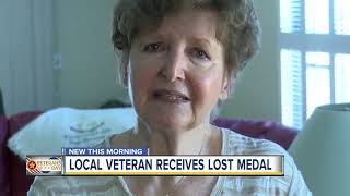 Korean War vet gets special medal from Army