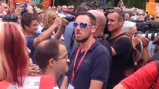 Jeremy Corbyn speech at NHS70 rally in Tredegar NHS 70 Bevan