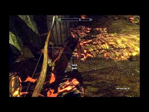 Halted Stream Camp -Skyrim- Dungeon Walkthrough