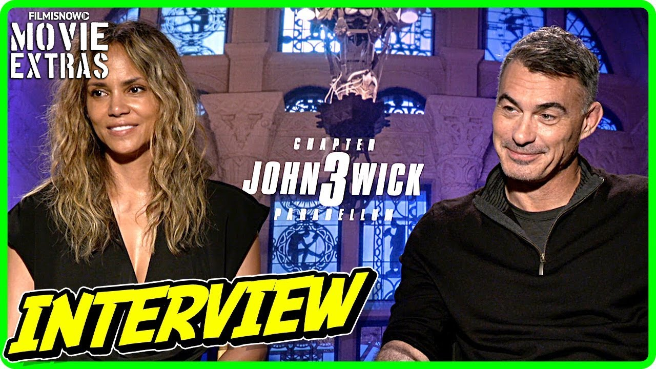 JOHN WICK: CHAPTER 3 PARABELLUM | Halle Berry & Chad Stahelski talk about the movie
