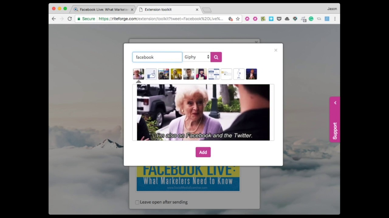 Mastering the RiteForge browser extension | RiteKit Help Center