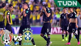 Desgarradoras imágenes, México cae en la final | México 1 - 2 Brasil | Mundial Brasil Sub17 | TUDN