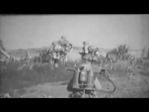 Air Strip #1, Marine Combat On Iwo Jima, 1945, D+4 - D+8 (full)