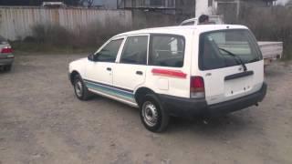 Видео-тест автомобиля Nissan AD (белый, Ga15de, Vfy10-181005)