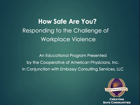 Workplace Violence: Responding to the Challenges (Free Webinar)