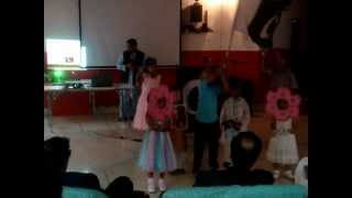 "INSHA ALLAH - NAYA PAKISTAN"" performance by Pakistani children at AIT"