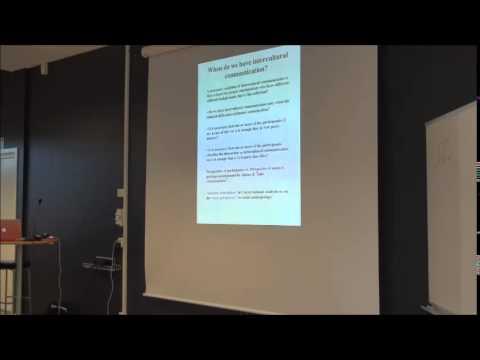 Power and intercultural communication - Jens Allwood - University of Gothenburg