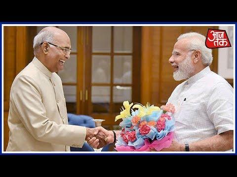 Halla Bol: PM Modi Congratulates Ram Nath Kovind For His Massive Win