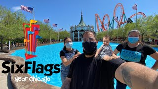 Six Flags Great America | Gurnee IL | Reopening