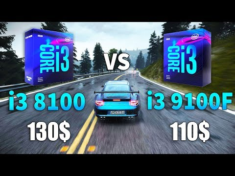 Core I3 9100F Vs Core I3 8100 Test In 9 Games