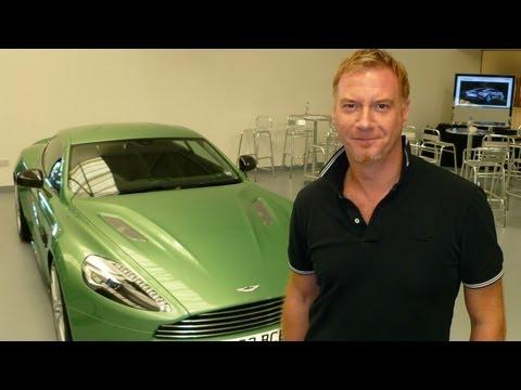 New Aston Martin Vanquish 2013, design story present by Marek Reichman