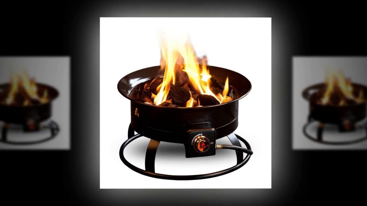 best portable propane fire pit reviews - premium portable propane fire pits