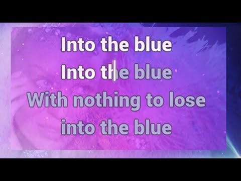 Kylie Minogue - Into the Blue  [ KARAOKE + LYRICS ]