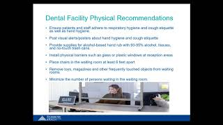 Infection Control in Outpatient Settings: Dentist Offices