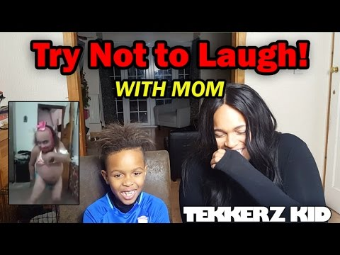 Try Not To Laugh Challenge With Mom !! | You Pick The Forfeit!!