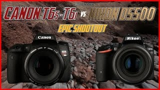 Canon T6s - T6i vs Nikon D5500 Epic Shootout Review | Which Camera to Buy Tutorial(Click here to purchase the Canon T6s / T6i Crash Course: http://canontrainingvideo.com/index.php?main_page=product_info&cPath=3&products_id=88 Click ..., 2015-06-28T11:59:09.000Z)