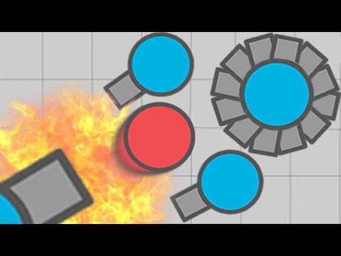 Diep.io Necromancer The Best Tank Yet? (New Agar.io / Slither.io Game)