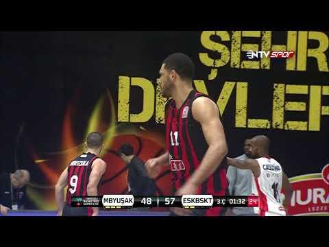 Maç Özeti: Muratbey Uşak - Eskişehir Basket