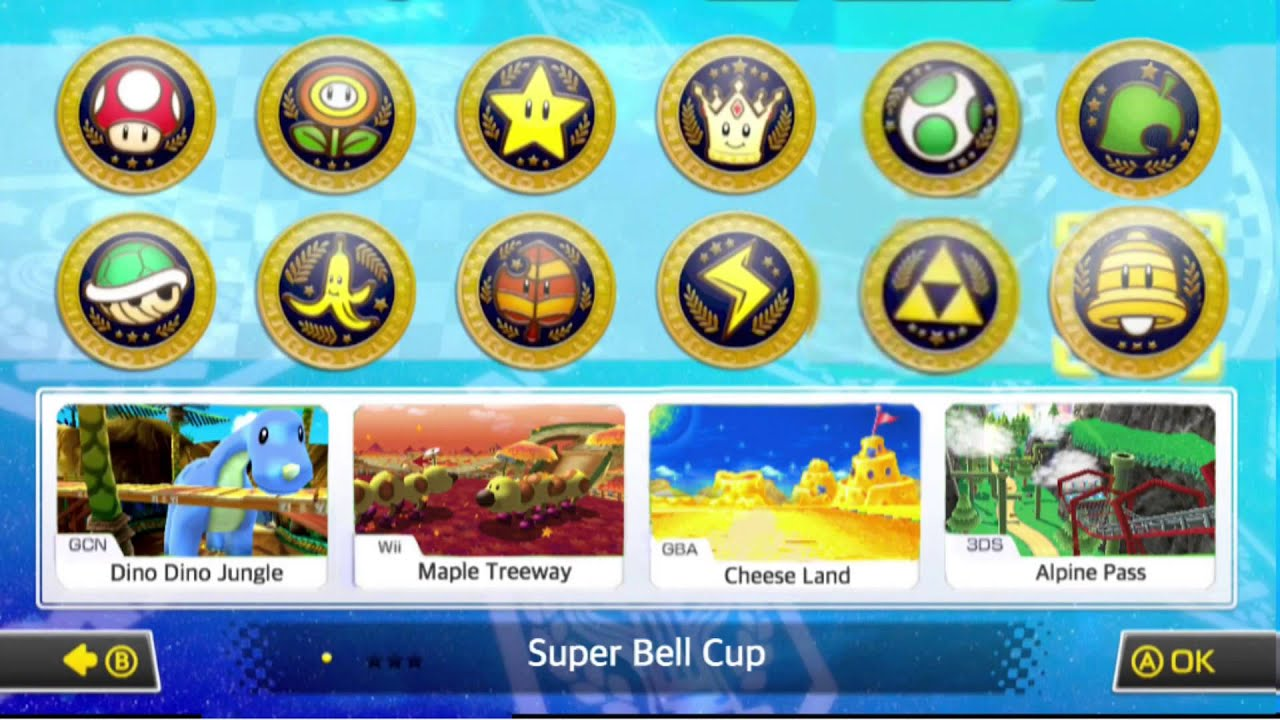 Mario kart 8 - DLC Pack 2 retro - 195.0KB