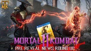 Mortal Kombat 11 //  Pre-Reveal News Round-Up!