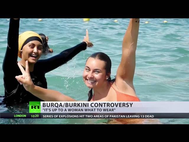 'Why can a nun still be fully covered?' (DEBATE on burqa & burkini ban)