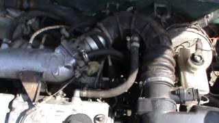 Глохнет или плохо держит Инжектор холостые обороты двигателя