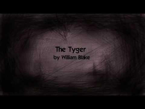 The Tyger by William Blake (music + lyrics)