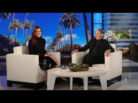 Debra Messing Recruits Ellen to Be Her Matchmaker