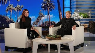 Debra Messing Recruits Ellen to Be Her Matchmaker