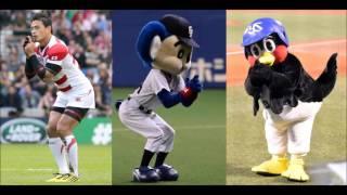 NEWS ZEROにラグビー日本代表 五郎丸歩選手、 リーチマイケル選手、田中...