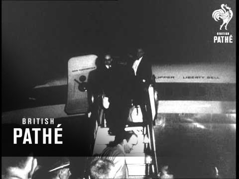 Vice President Nixon Leaves For Moscow - American National Exhibition In Moscow (1959)