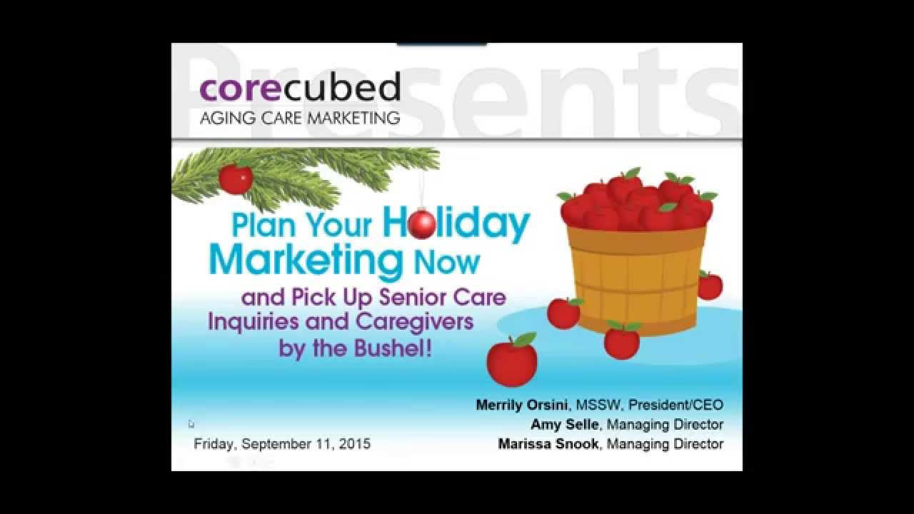 Plan Your Holiday Home Care Marketing Now Corecubed