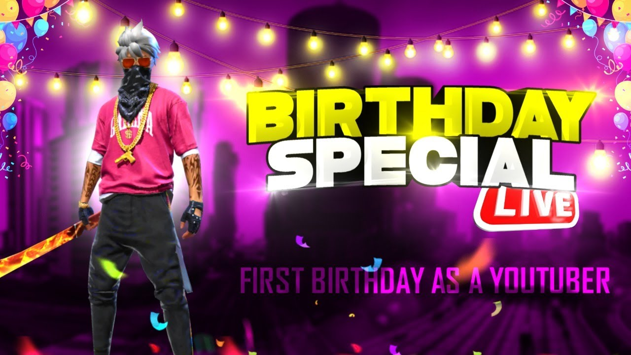 🔥Birthday Special Live stream💖    First birthday As Youtuber! 🥺💖