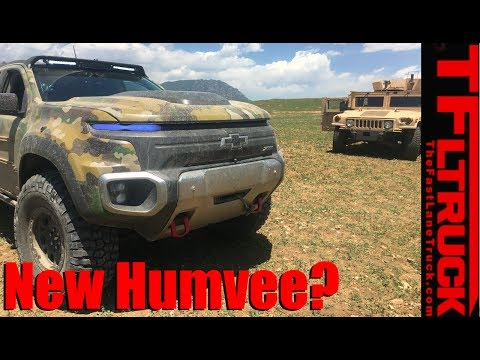 Is the Chevy Colorado ZH2 the new Humvee?