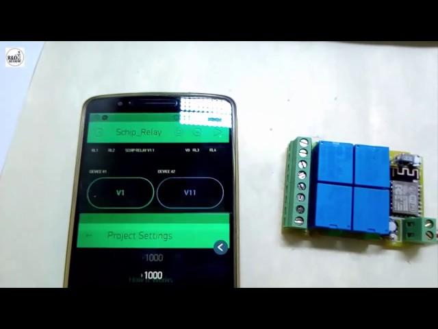 B? ?i?u Khi?n Wifi Smart 4 Relay WSR-04| Nhóm Review | R&D NEW PRODUCTS