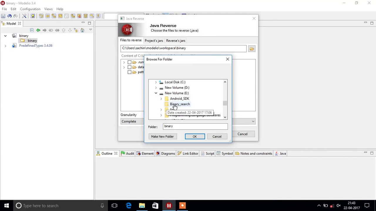 Generate class diagram from java code in modelio youtube generate class diagram from java code in modelio ccuart Gallery