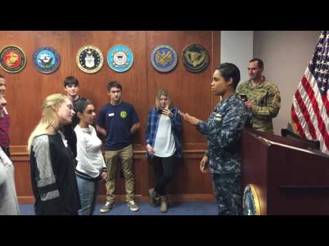 MEPS Swearing-In Fort Lee, VA #USMC