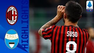 Milan 1-0 SPAL | Suso Strike Seals Victory For Milan | Serie A
