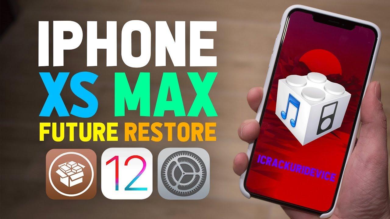 iOS 12 1 2 Jailbreak PREP: iPhone XS Max Future Restore Tutorial for A12  iPhones! (iOS 12 Jailbreak)