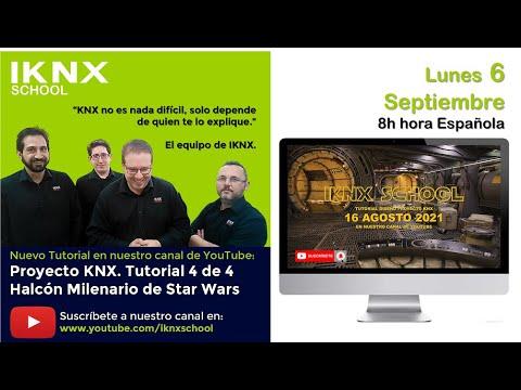 TIPS KNX Nº181. Proyecto KNX en Halcón Milenario de Star Wars. Tutorial 4 de 4
