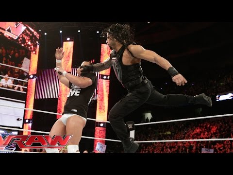Bo Dallas offers some advice to Roman Reigns: Raw, April 20, 2015