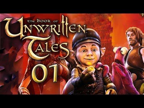 The Book of Unwritten Tales #001 [GER] - Der eine Ring, sie zu... äh, Moment!