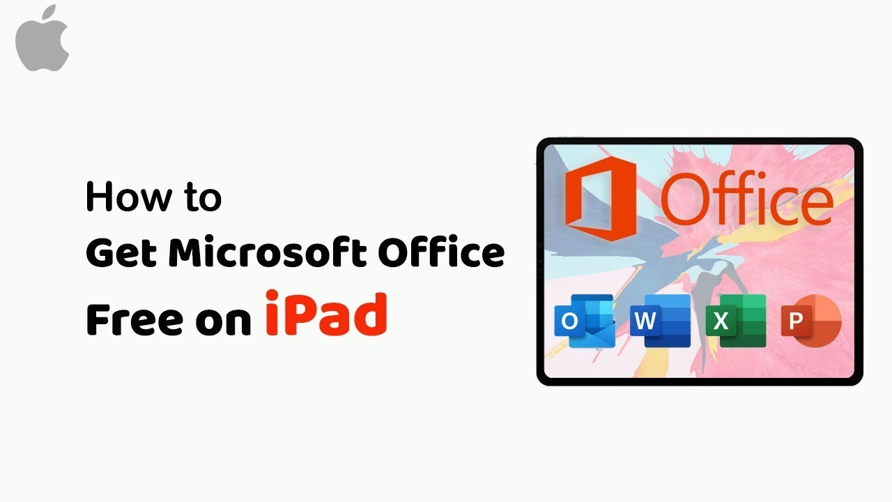 how to get microsoft office for free on ipad
