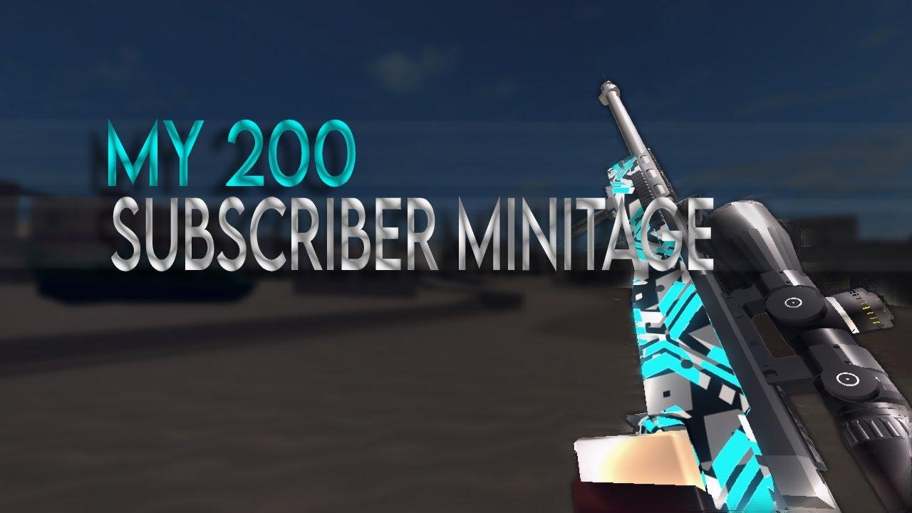 My 200 Subscriber Minitage by Genesis Rare