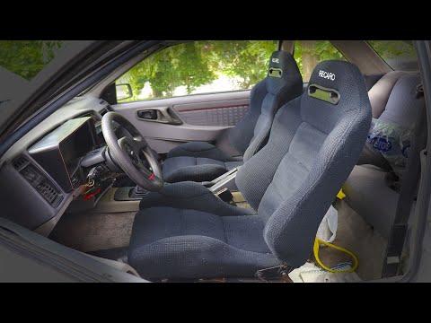 Colocando Butacas Re Caro en el Sierra XR4
