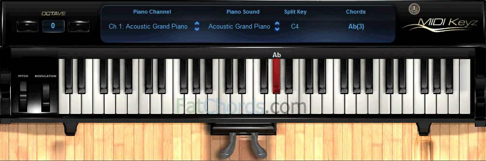 Fat Chords 35 Piano Progression Voicings Phat Neo Soul Jazz