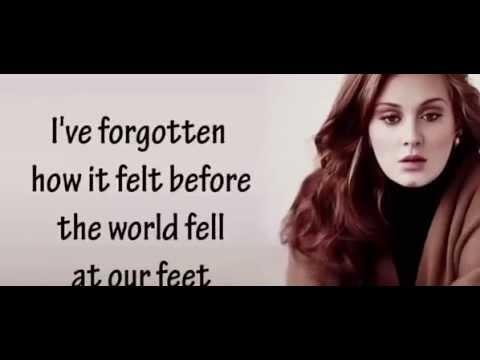 Adele Hello Audio Lyrics Youtube