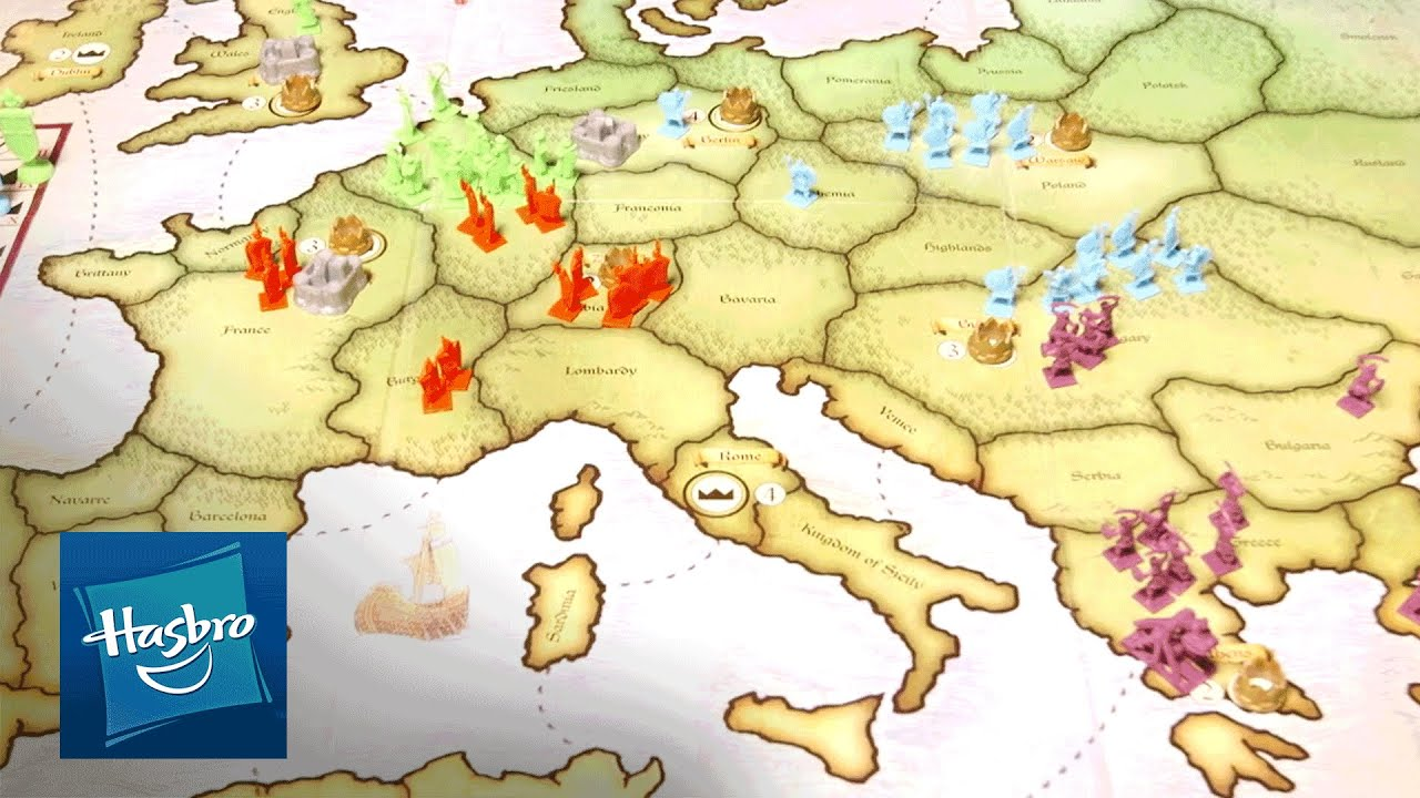 Risk Europe Official Instructions Video Hasbro Gaming Youtube